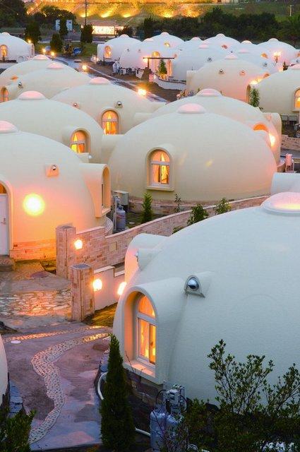日本にあるかわいいドームハウスのとれとれヴィレッジ!