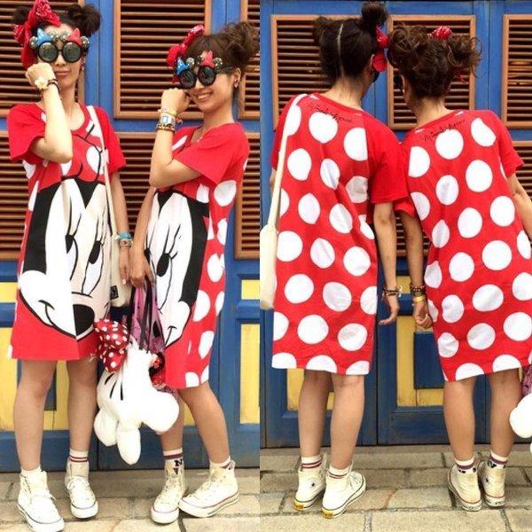 楽しさも2倍!東京ディズニーリゾートのリンクコーデファッション