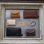 虫モチーフのバッグで有名な、黒澤洋行さんの自然と調和した革製品