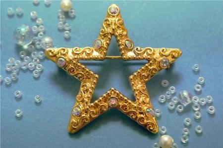 秋ネイルにキラっと星柄★「スターネイル」デザイン2016