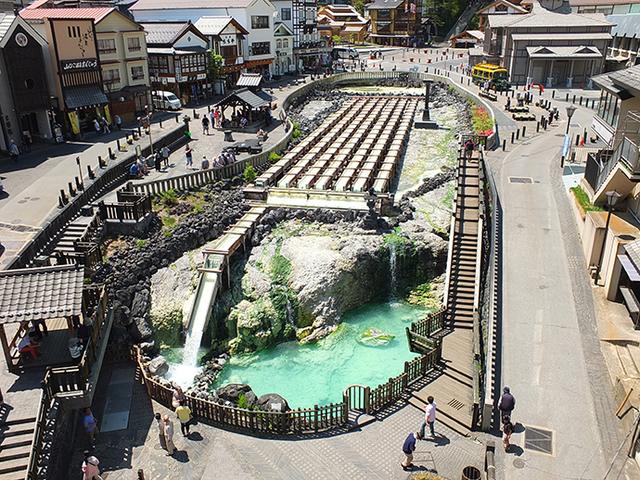 日本三大名湯の一つ、有名な「草津温泉」で群馬を満喫しよう