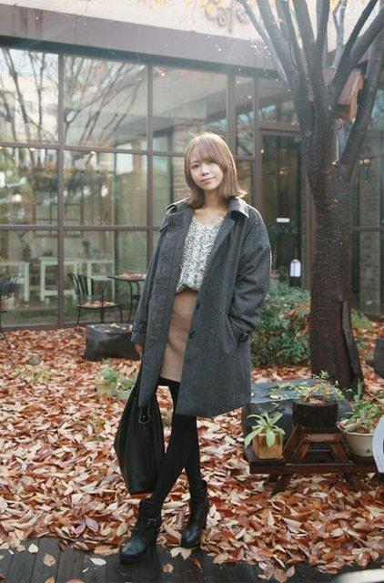 涼しい季節の秋にふさわしい韓国風ファッションの選び方