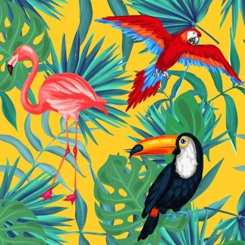 鳥ネイルで指先にお洒落なアクセントを♡ピーコック、インコ、フラミンゴetc.