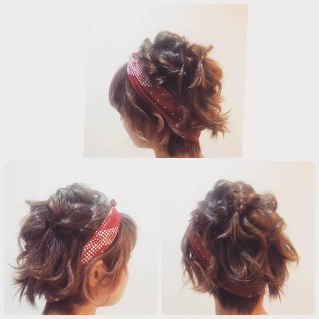 ショートヘアでも出来る!かわいいヘアアレンジ5選!