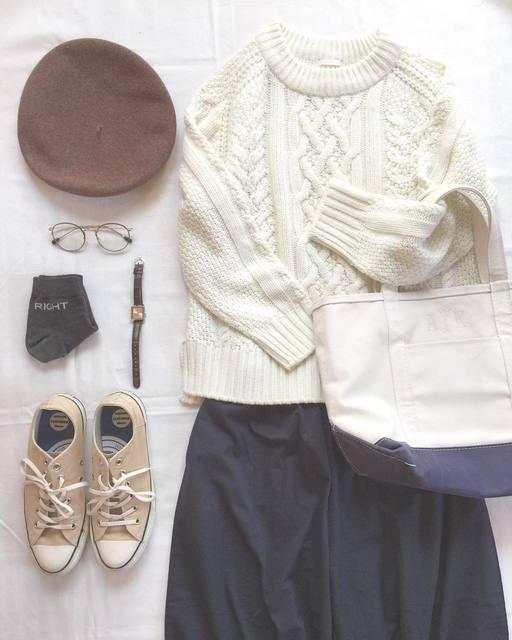 ケーブル編みがとってもキュート♡今すぐ欲しくなるアランケーブルセーター