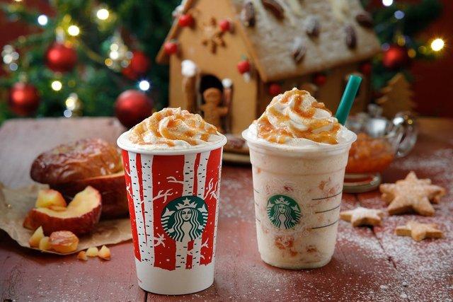気分はアメリカのクリスマス♡スタバの新作「ホットベイクドアップル」発売!