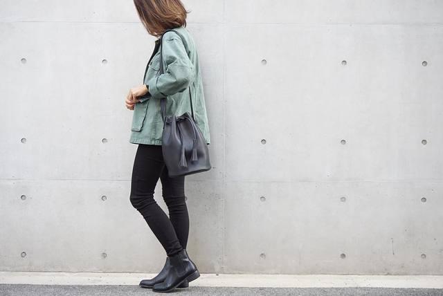 ワイルド可愛い♡ミリタリージャケットを使った冬のコーディネート7選