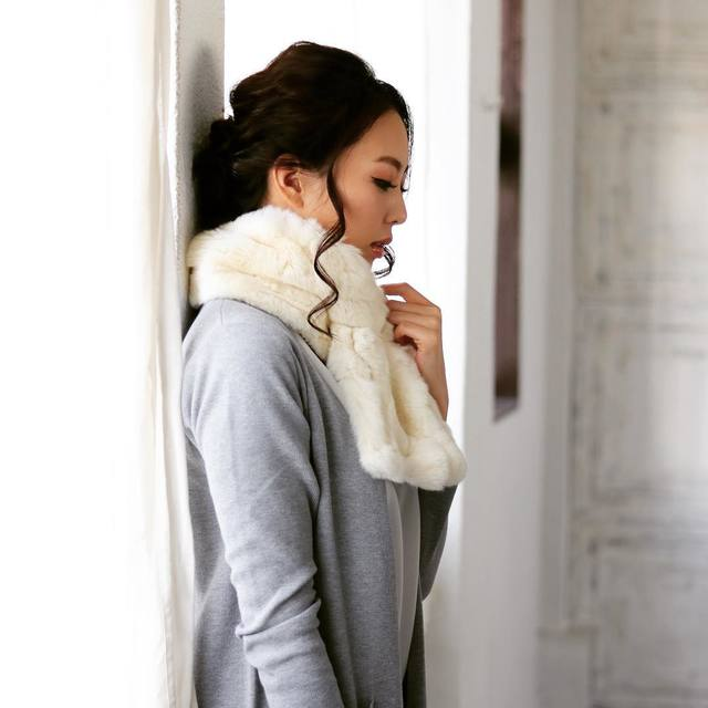 冬コーデのマストアイテム♡ファーマフラーを使った2017冬コーデ7選