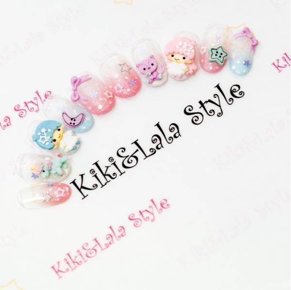"""新宿のネイルサロン""""Kiki&Lala Style (キキララスタイル)""""のネイルデザイン特集♡"""