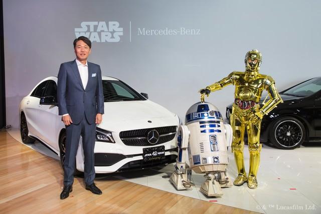 メルセデス・ベンツがスター・ウォーズとコラボした特別仕様車を発表!