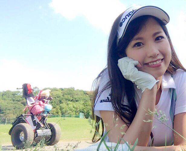 ゴルフ女子の武田奈津美がセグウェイゴルフに初挑戦!