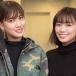 E-girlsの藤井夏恋と山口乃々華が語るお互いの印象、こだわりの美容法とは
