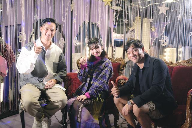劇団EXILEの秋山真太郎、小澤雄太とモデルの田中芽衣がシースリーブースの公開収録に登場!
