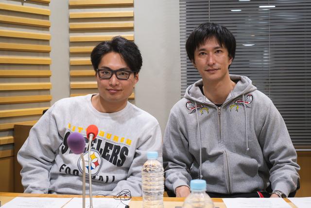 秋山真太郎と八木将康が自身のソウルフードや劇団EXILEで「桃太郎」を演じるとしたらについて語る
