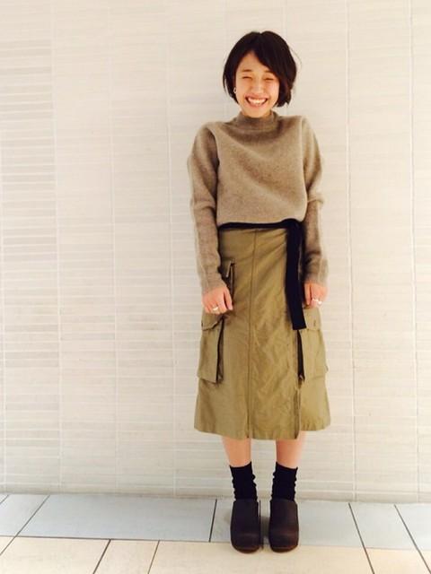 KURIHARA(FREAKS STORE 新宿ウィメンズ店)|FREAK'S STOREのニット・セーターを使ったコーディネート - WEAR (341)