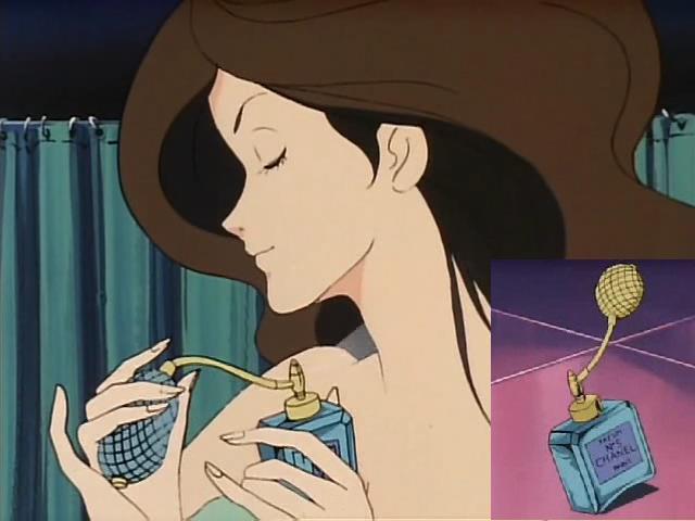 """漫画アニメ登場品bot on Twitter: """"峰不二子(ルパン三世)【香水】シャネルNo.5【解説】シャネル「No.5、あれは他のどの香水とも違う。女性の香りがする、女性の香水」また、マリリン・モンローが就寝前に着けていた香水という話も有名である https://t.co/oCYgIKf1LS"""" (1275)"""