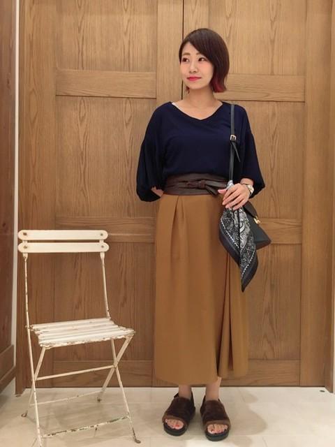 akari takeda|Discoat Parisien WOMENSのTシャツ/カットソーを使ったコーディネート - WEAR (5994)