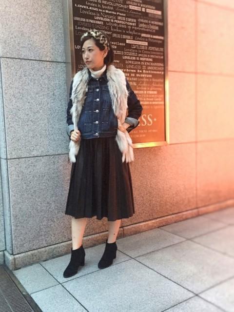 kyon(GUILD PRIME 本社)|LOVELESS WOMENSのニット/セーターを使ったコーディネート - WEAR (8282)