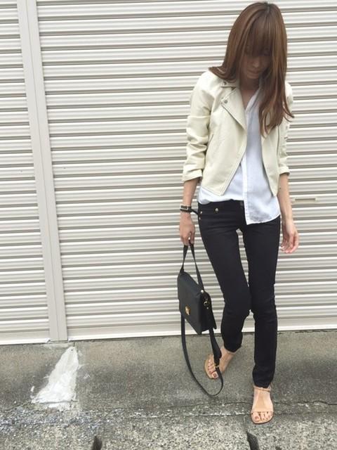 Sato* mysty womanのライダースジャケットを使ったコーディネート - WEAR (8985)