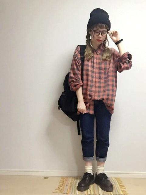 ☆★gizmo★☆|no brandのニットキャップ・ビーニーを使ったコーディネート - WEAR (9524)