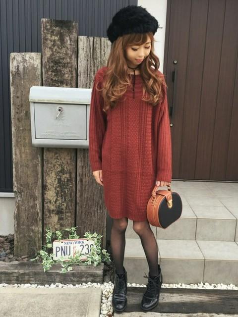 清水夏姫|OZOCのワンピースを使ったコーディネート - WEAR (11176)
