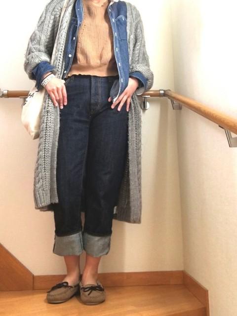 kana|AZUL by moussyのニット・セーターを使ったコーディネート - WEAR (11251)