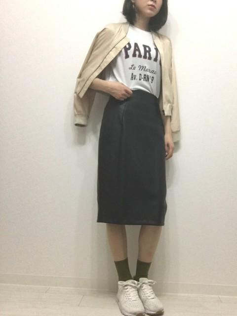 かじぃ(靴下屋 Tabio本部)|靴下屋のソックス/靴下を使ったコーディネート - WEAR (12017)