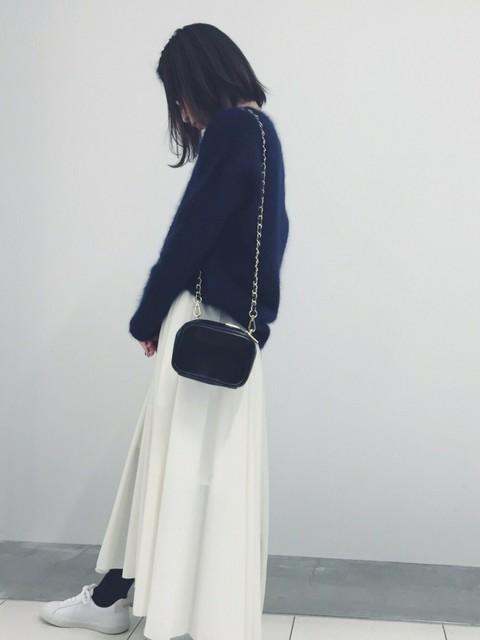 eri  yoshida(ADAM ET ROPE'  札幌PARCO)|ADAM ET ROPE'のニット/セーターを使ったコーディネート - WEAR (16180)