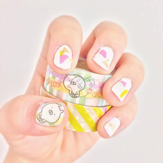 ピンク&イエロー