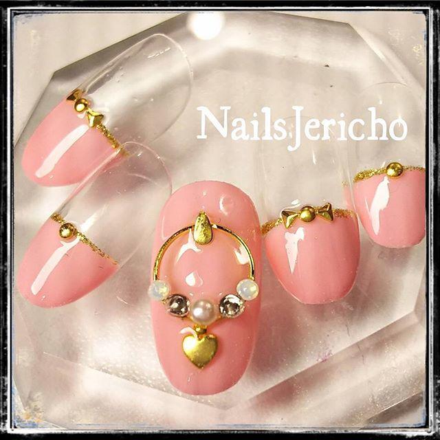 ピンク♡&ゴールド