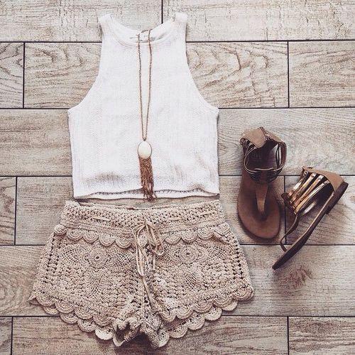 Summer combine teen girl by Evelin   We Heart It (497412)