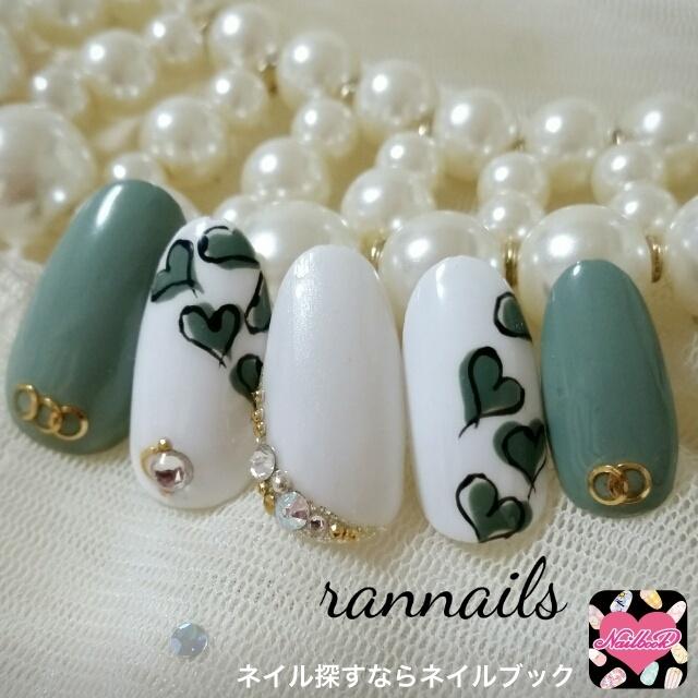rannailsさんのバレンタイン,ソフトジェル,ハートネイル♪[1355830]|ネイルブック (483573)