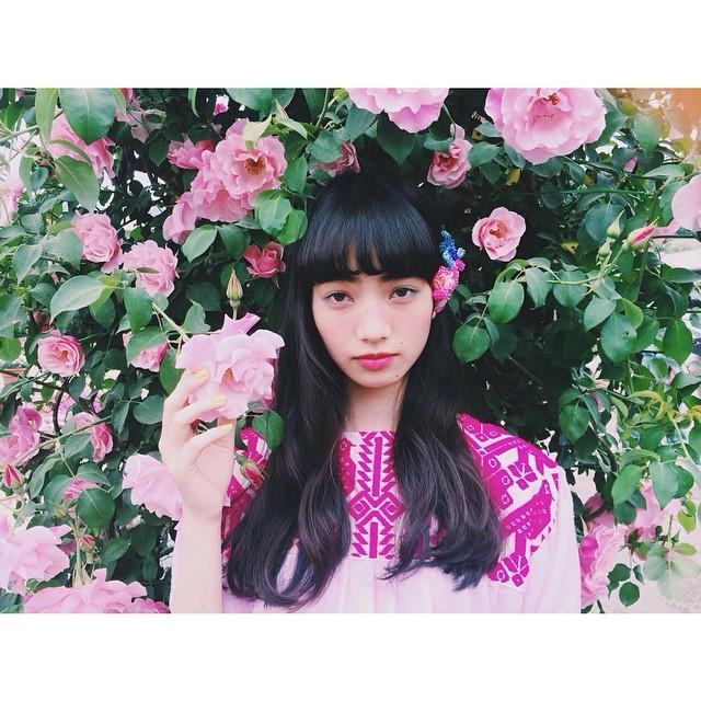 chie ninomiya: 花と菜奈/Zipper magazine cover off shot🌺 #flower#zipper#girl#pink#styledbyme#zippemag#小松菜奈#offshot#staygold#vsco#vscocam (511470)