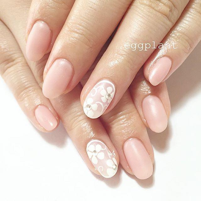 ピンク+すりガラスが相性抜群♡