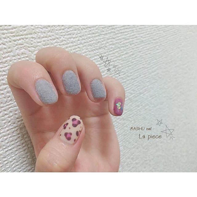 グレー+ふんわりピンクが可愛すぎる・・♡