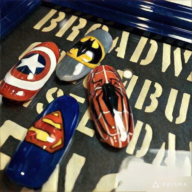 スーパーマンのロゴがクール!