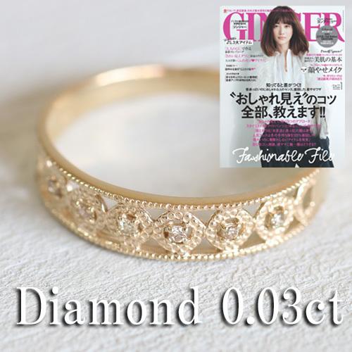 ダイヤモンドファッションリング