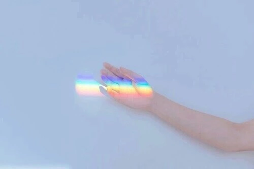 aesthetic, hand, photo, rainbow, tumblr - image #4704619 by helena888 on Favim.com (520848)