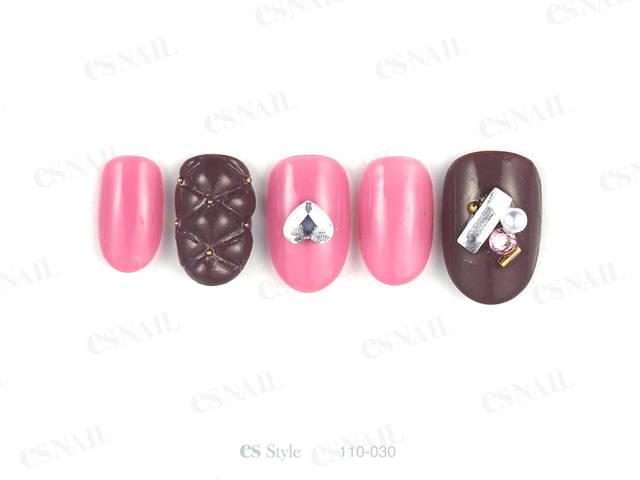 チョコレートをイメージした色味でガーリーなバレンタイン...