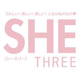 雑誌SHE THREE